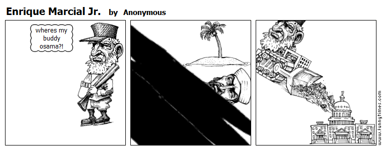 Enrique Marcial Jr. by Anonymous