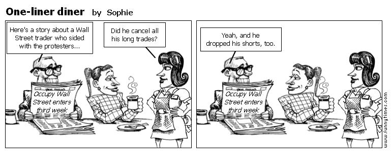 One-liner diner by Sophie