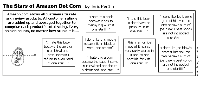 The Stars of Amazon Dot Com by Eric Per1in
