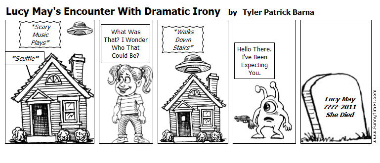 Lucy May's Encounter With Dramatic Iron by Tyler Patrick Barna