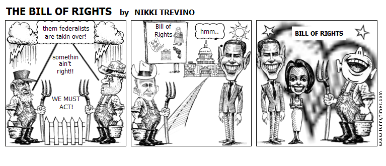 THE BILL OF RIGHTS by NIKKI TREVINO