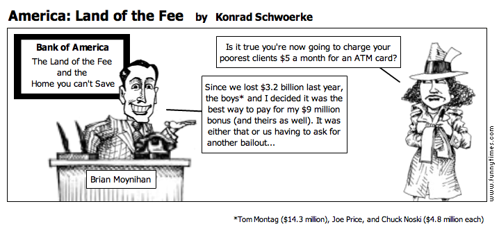 America Land of the Fee by Konrad Schwoerke