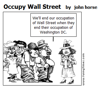 Occupy Wall Street by john horse