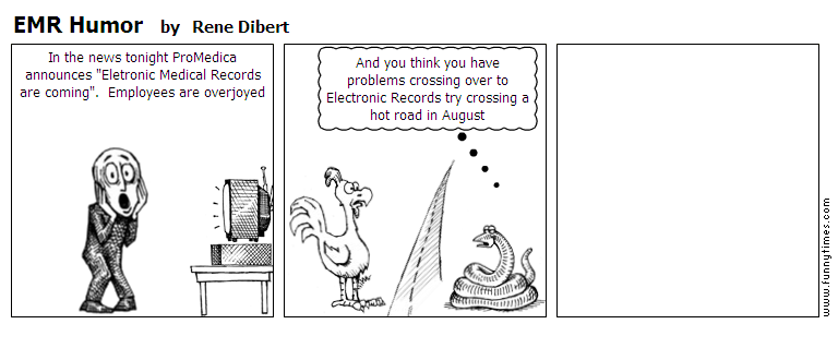 EMR Humor by Rene Dibert