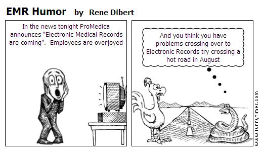 EMR Humor by Rene Dibert