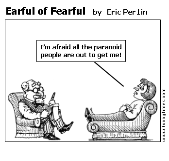 Earful of Fearful by Eric Per1in