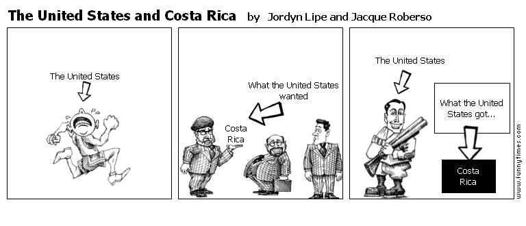 The United States and Costa Rica by Jordyn Lipe and Jacque Roberso