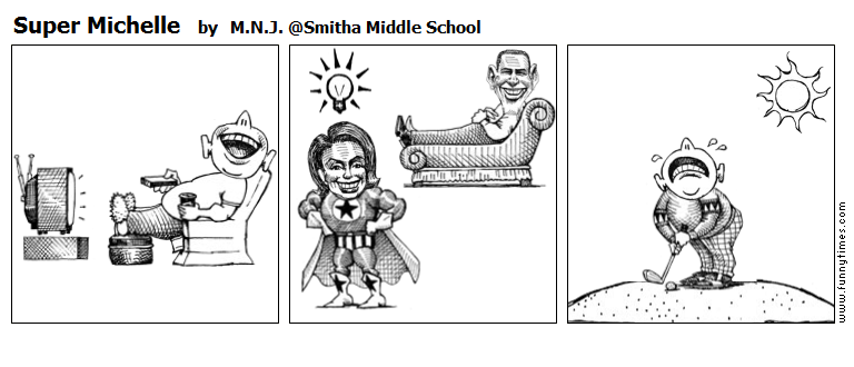 Super Michelle by M.N.J. Smitha Middle School