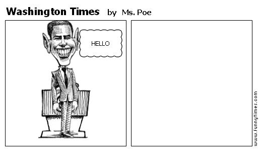 Washington Times by Ms. Poe