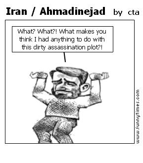 Iran  Ahmadinejad by cta