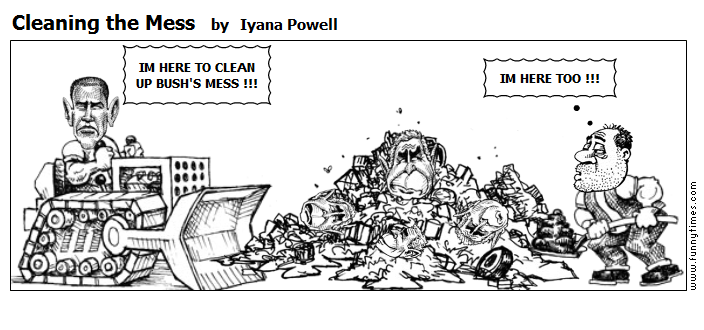 Cleaning the Mess by Iyana Powell