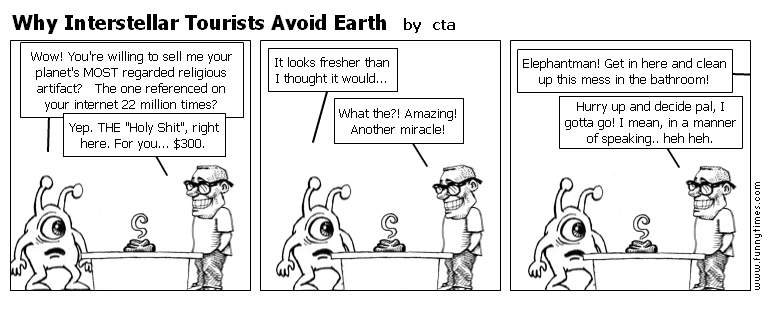 Why Interstellar Tourists Avoid Earth by cta