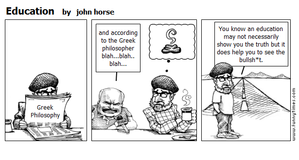 Education by john horse