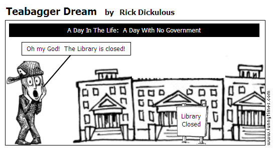 Teabagger Dream by Rick Dickulous