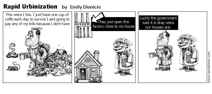 Rapid Urbinization by Emily Dionicio