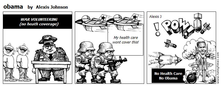 obama by Alexis Johnson