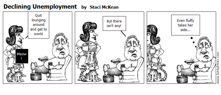 Declining Unemployment by Staci McKean