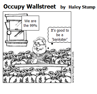 Occupy Wallstreet by Haley Stump