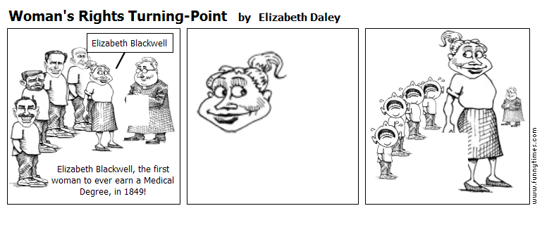 Woman's Rights Turning-Point by Elizabeth Daley