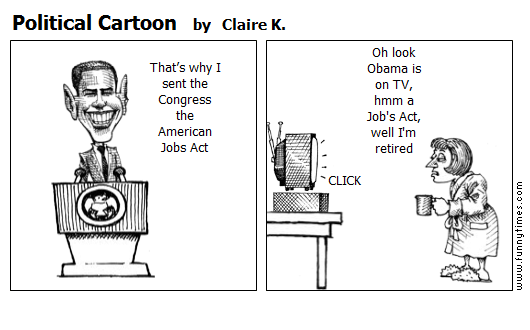 Political Cartoon by Claire K.