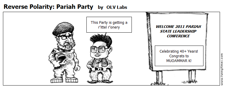 Reverse Polarity Pariah Party by OLV Labs