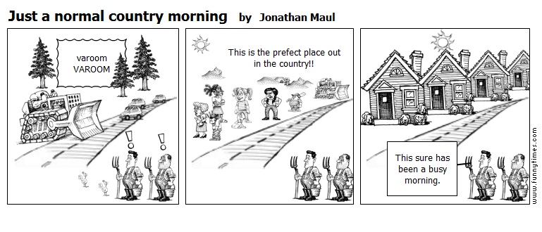 Just a normal country morning by Jonathan Maul
