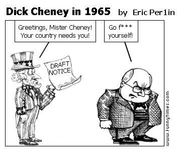 Dick Cheney in 1965 by Eric Per1in