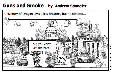 Guns and Smoke by Andrew Spangler