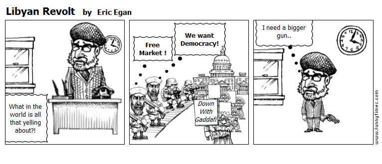 Libyan Revolt by Eric Egan