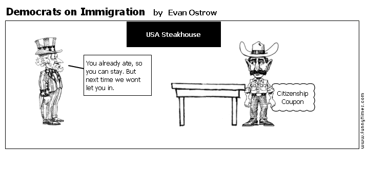 Democrats on Immigration by Evan Ostrow