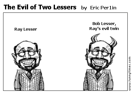 The Evil of Two Lessers by Eric Per1in