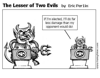 The Lesser of Two Evils by Eric Per1in