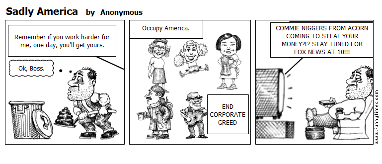 Sadly America by Anonymous