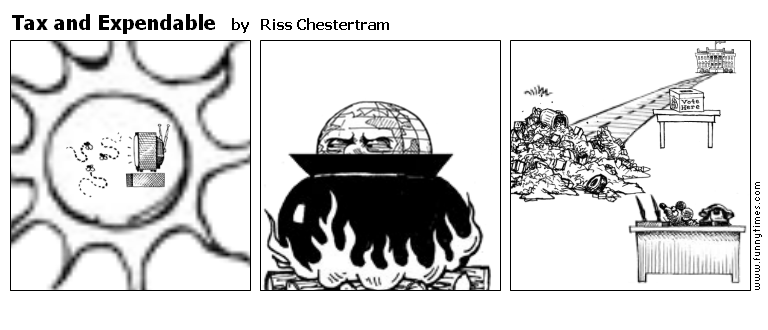 Tax and Expendable by Riss Chestertram