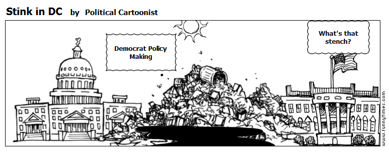 Stink in DC by Political Cartoonist