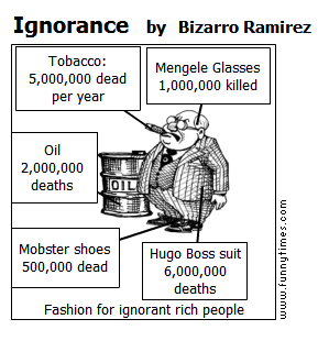 Ignorance by Bizarro Ramirez