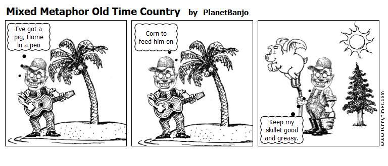 Mixed Metaphor Old Time Country by PlanetBanjo