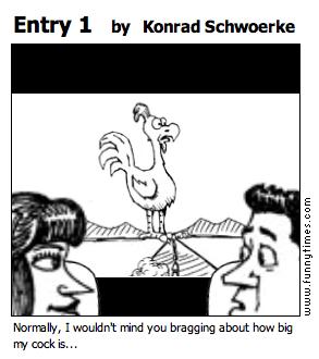 Entry 1 by Konrad Schwoerke