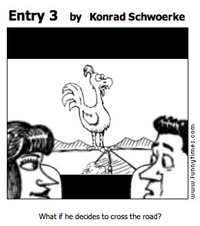 Entry 3 by Konrad Schwoerke