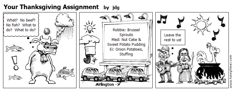 Your Thanksgiving Assignment by jdg