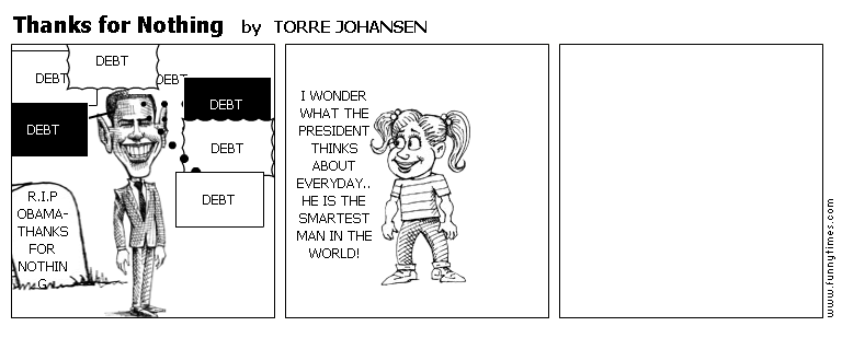 Thanks for Nothing by TORRE JOHANSEN