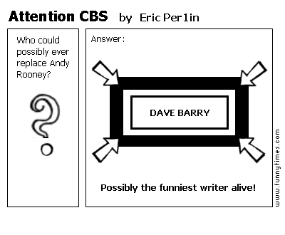 Attention CBS by Eric Per1in