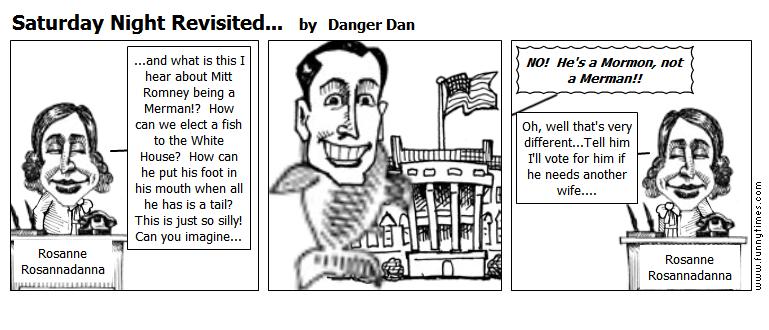 Saturday Night Revisited... by Danger Dan