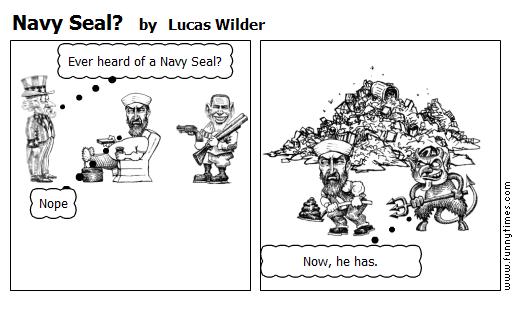Navy Seal by Lucas Wilder
