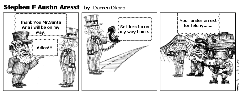 Stephen F Austin Aresst by Darren Okoro
