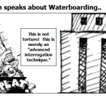 Herman Cain speaks about Waterboarding..