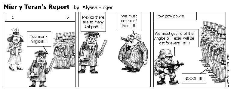 Mier y Teran's Report by Alyssa Finger