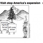 British stop America's expansion