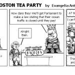 REACTION TO THE BOSTON TEA PARTY