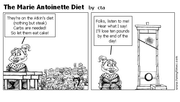 The Marie Antoinette Diet by cta